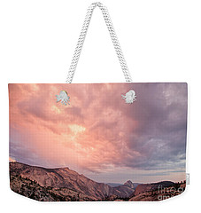 Half Dome From Olmsted Point Weekender Tote Bag