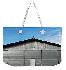 Weekender Tote Bag featuring the photograph Hangar 2 by Kathleen Grace