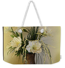 Weekender Tote Bag featuring the photograph Happiness by Sherri  Of Palm Springs