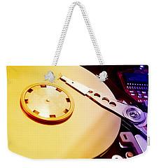Hard Disk Detail Weekender Tote Bag