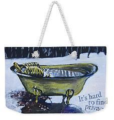 Hard To Find Privacy Weekender Tote Bag