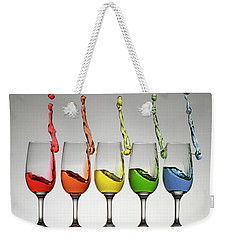 Harmonic Cheers Weekender Tote Bag by William Lee