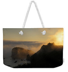 Harris Beach Sunset Panorama Weekender Tote Bag
