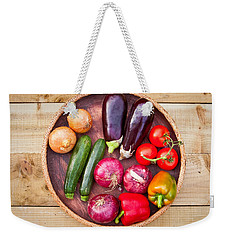 Harvest Weekender Tote Bag by Tom Gowanlock