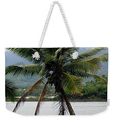 Weekender Tote Bag featuring the photograph Hawaiian Palm by Athena Mckinzie
