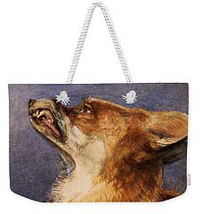 Head Of A Fox Weekender Tote Bag