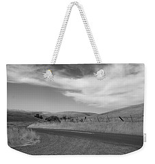 Weekender Tote Bag featuring the photograph Heading Inland by Kathleen Grace