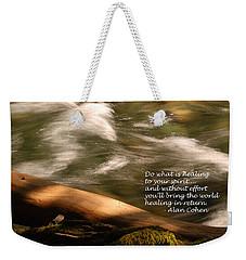 Healing 3 Weekender Tote Bag