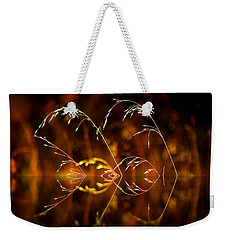 Weekender Tote Bag featuring the photograph Heartbeat by Vicki Pelham
