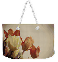 Weekender Tote Bag featuring the photograph Heavenly Glow by Marilyn Wilson