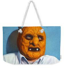 Heavy Vegetable-head Weekender Tote Bag by James W Johnson