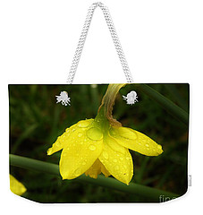 Weekender Tote Bag featuring the photograph Heavy With Water by Sherman Perry