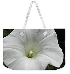 Hedge Morning Glory Weekender Tote Bag by Tikvah's Hope
