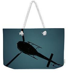Helicopter Silhouette Weekender Tote Bag