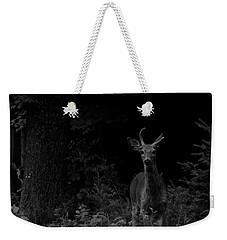 Hello Deer Weekender Tote Bag by Cheryl Baxter