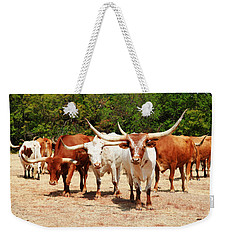 Some Long Horns Ya Got There Weekender Tote Bag