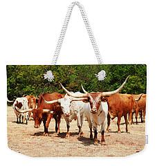 Some Long Horns Ya Got There Weekender Tote Bag