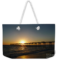 Hermosa Beach Sunset Weekender Tote Bag by Nina Prommer