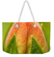 Hibiscus Bud Weekender Tote Bag
