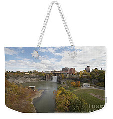 Weekender Tote Bag featuring the photograph High Falls by William Norton