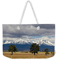 Weekender Tote Bag featuring the photograph High Tatras - Vysoke Tatry by Les Palenik