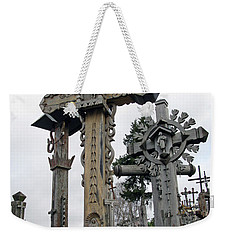 Hill Of Crosses 09. Lithuania Weekender Tote Bag