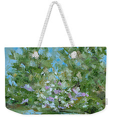 Hilltop Weekender Tote Bag by Judith Rhue