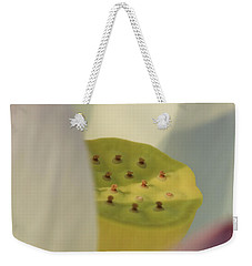 Hindu Lotus Weekender Tote Bag