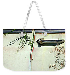 Hitchhiker Weekender Tote Bag by Joe Jake Pratt