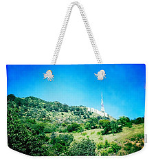 Weekender Tote Bag featuring the photograph Hollywood by Nina Prommer