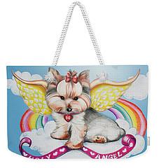 Holy Angel Weekender Tote Bag