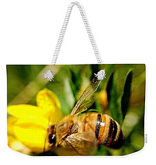 Honey Bee Weekender Tote Bag