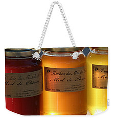 Weekender Tote Bag featuring the photograph Honey by Lainie Wrightson