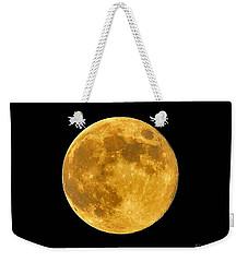 Honey Moon Close Up Weekender Tote Bag