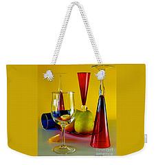Honor To  Mondrian  Weekender Tote Bag by Elf Evans
