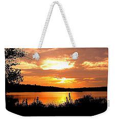 Horn Pond Sunset 2 Weekender Tote Bag