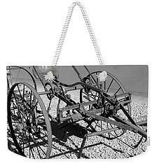 Horse Drawn Plow Weekender Tote Bag