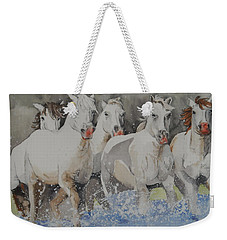 Horses Thru Water Weekender Tote Bag