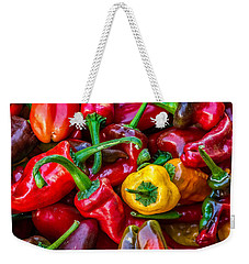 Hot Pepper Time Weekender Tote Bag