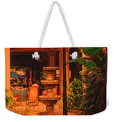 Weekender Tote Bag featuring the photograph Hotel Alhambra by Lydia Holly