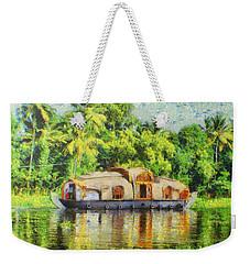 Houseboat Weekender Tote Bag