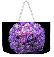Weekender Tote Bag featuring the digital art Human Papilloma Virus  10 by Russell Kightley