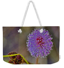 Humble Weed 1 Weekender Tote Bag by Jocelyn Kahawai