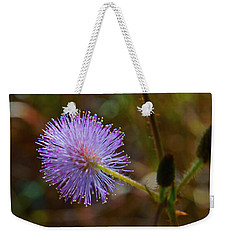 Humble Weed 2 Weekender Tote Bag by Jocelyn Kahawai