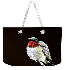 Hummingbird - Ruffled Feathers Weekender Tote Bag