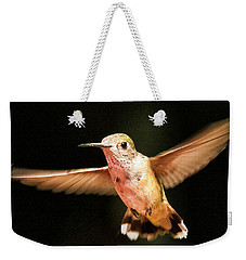 Hummingbird  Weekender Tote Bag by Albert Seger
