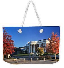 Hunter Museum In Autumn Weekender Tote Bag