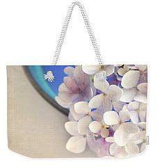 Hydrangeas In Blue Bowl Weekender Tote Bag