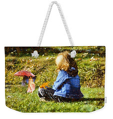 I Believe In Fairies Weekender Tote Bag by Nikki Marie Smith