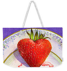 I Love You Berry Much Weekender Tote Bag